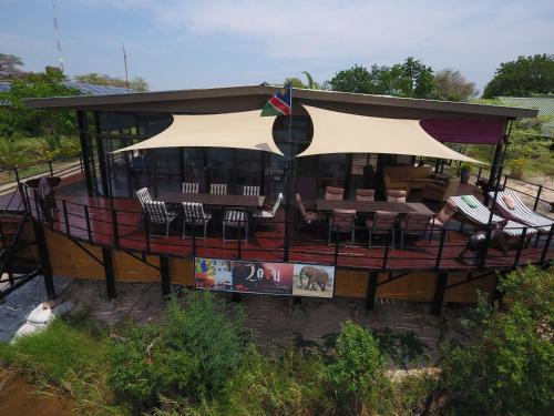 Zovu Elephant Lodge, Kabe