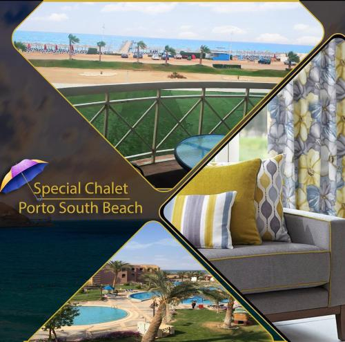 Special Chalets in Porto South Beach families, 'Ataqah