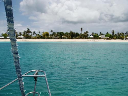 Cozy sail boat in San Blas, Kuna Yala