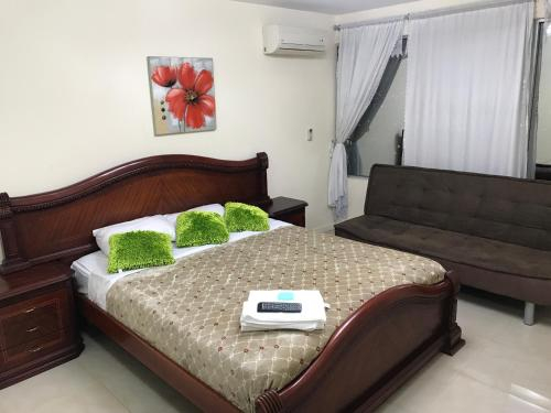 Hermosa Habitacion en Lujoso Departamento en Machala, Machala