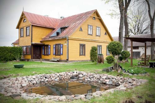 Seno grafo sveciu namai, Rokiškio