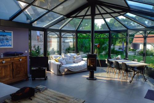 Chambre avec veranda, Loir-et-Cher