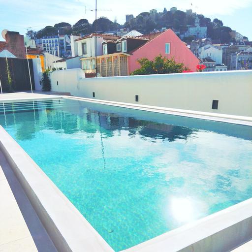 RH OLARIAS 19 Swimming Pool and View, Lisboa