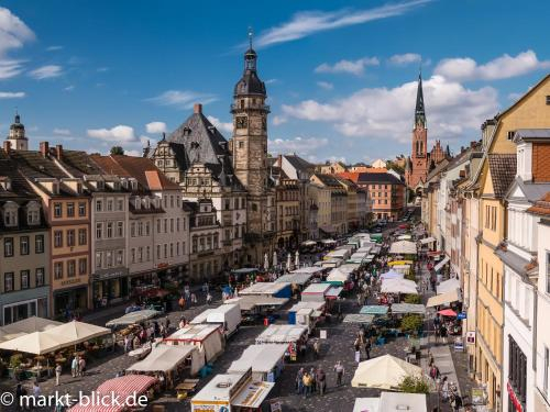 Marktblick - Ferienwohnungen LAUM Altenburg, Altenburger Land