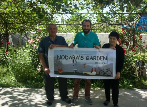 Nodara's garden, Lagodekhi