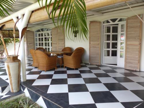 Jolie Villa Creole,