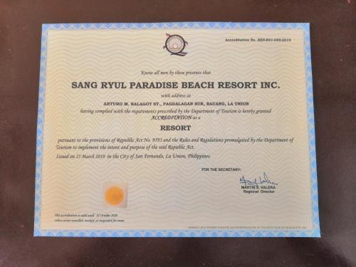 SR Paradise Beach Resort & Hotel, San Fernando City