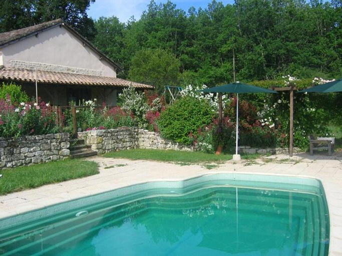 Villa With 5 Bedrooms in Castelnau-montratier, With Private Pool, Encl, Lot