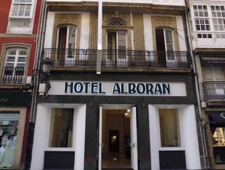 Hostal Alborán, A Coruña