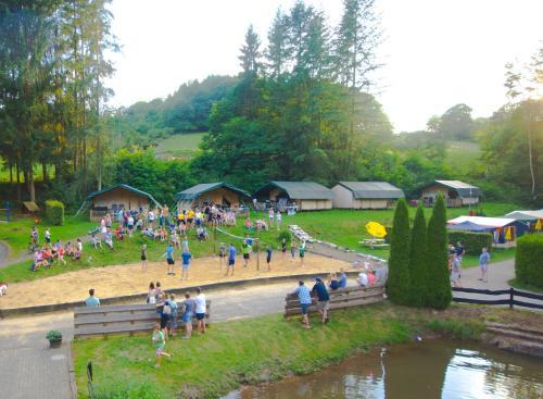 Safari tent at Vakantiepark Walsdorf, Vianden