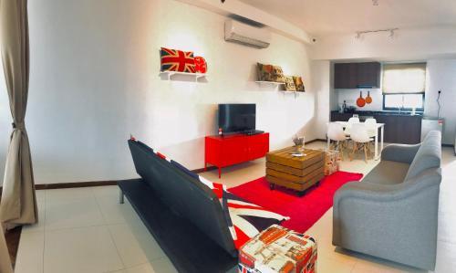 Romantic Modern Studio @level 18, Pulau Penang