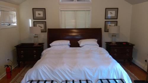 Spacious master bedroom and bath, Norfolk