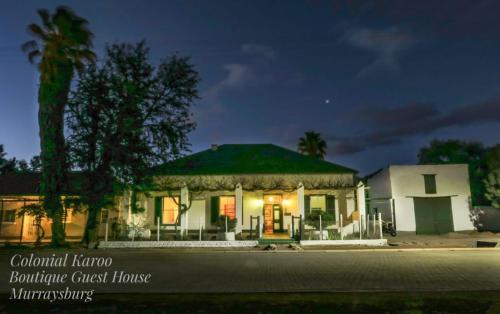 Colonial Karoo, Central Karoo