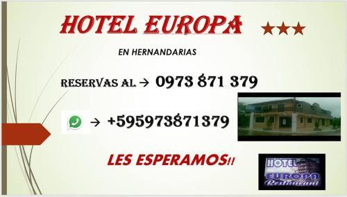 Hotel Europa, Hernandarias