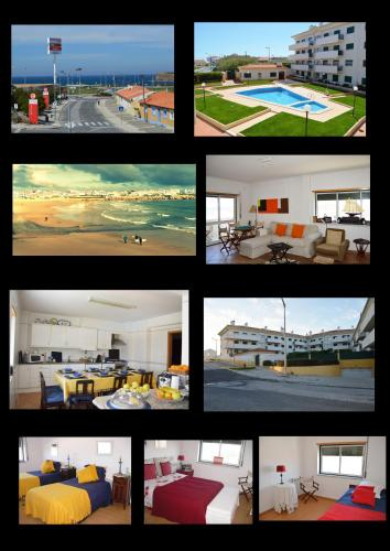 Apartment Peniche swimming pool, Peniche