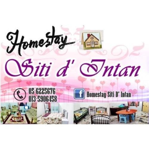 Homestay Siti d' Intan, Hilir Perak