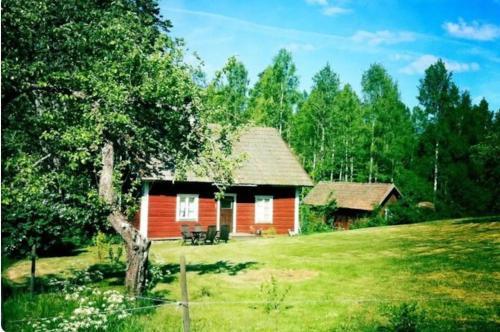 Kalvefalls, Ydre