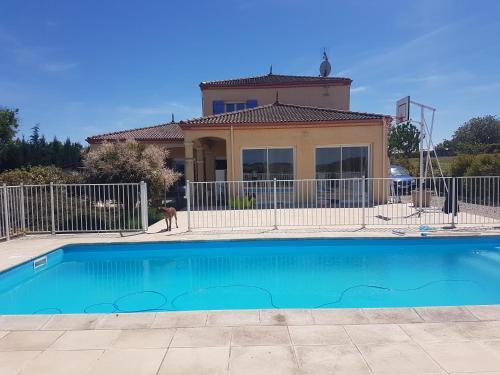 Maison et piscine, Lot-et-Garonne
