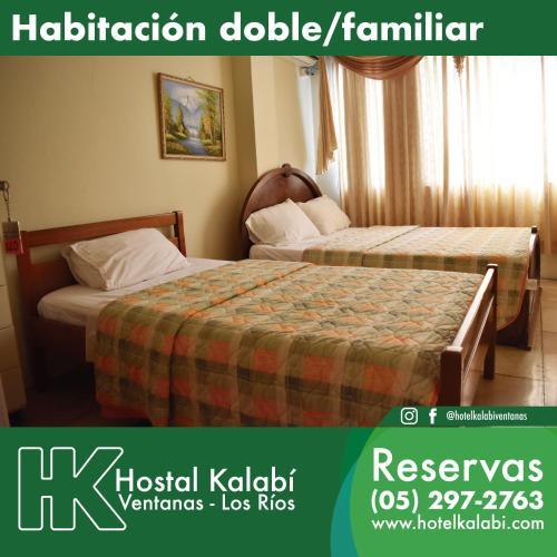 Hotel Kalabi INN, Ventanas