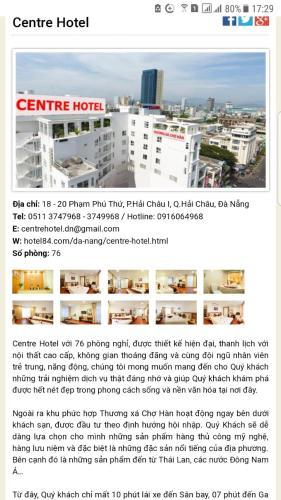 Center hotel so 20 pham thu thu da nang, Hải Châu