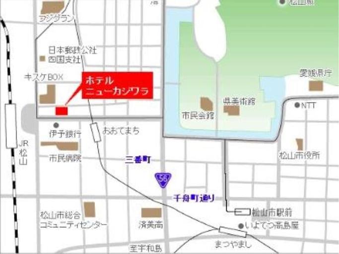 Hotel New Kajiwara, Matsuyama
