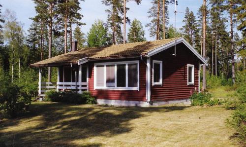 Bocksjomons Stugor, Laxå
