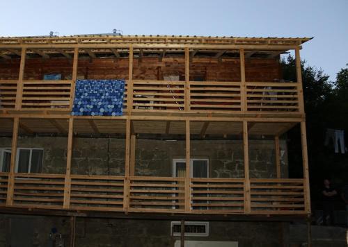 wooden house, Adigeni