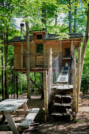 Chimo Refuges Treehouse Resort, Les Pays-d'en-Haut