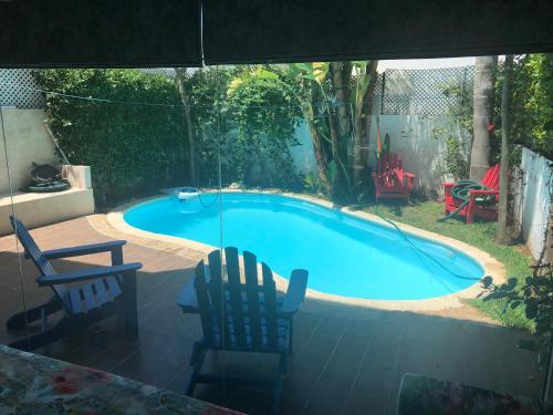 Jolie villa balneaire avec piscine, Casablanca