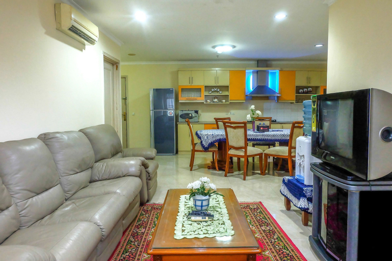 3 Bedroom Permata Senayan Apartment By Travelio, Central Jakarta