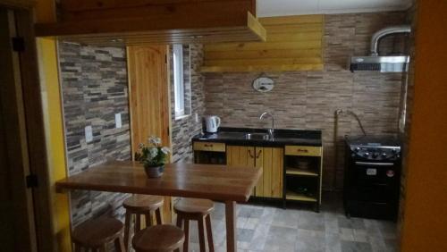 Cabanas Tres Andinos, Magallanes