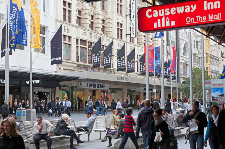 Causeway Inn On The Mall Hotel, Melbourne