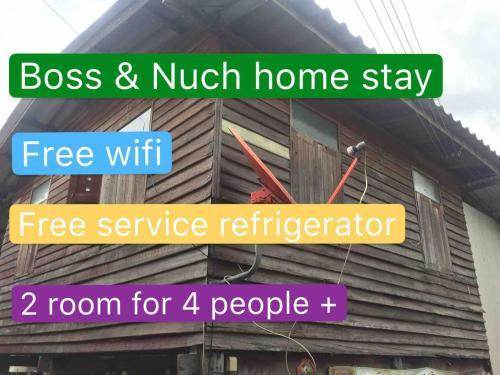 Boss&Nuch home stay, Khlong Luang