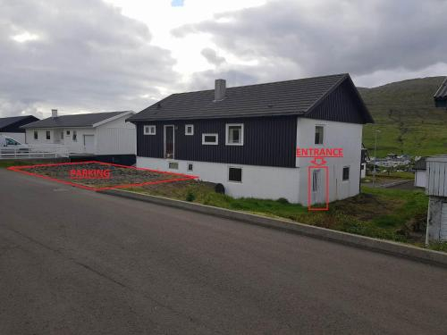 Guestrooms close to airport, Sørvágs