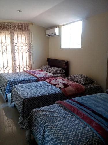 Habitacion grande,aire acondicionado., Machala