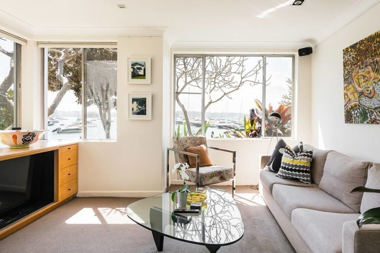 Waterfront Apartment Brimming With Inspirational Artwork, Woollahra