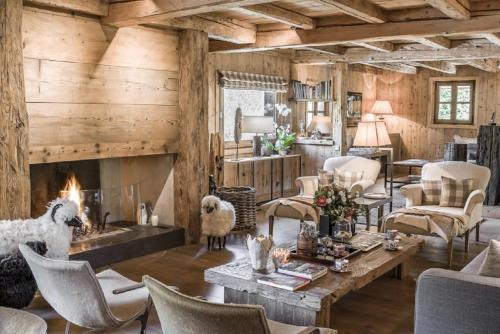 Chalet with daily housekeeping in Gstaad, Saanen