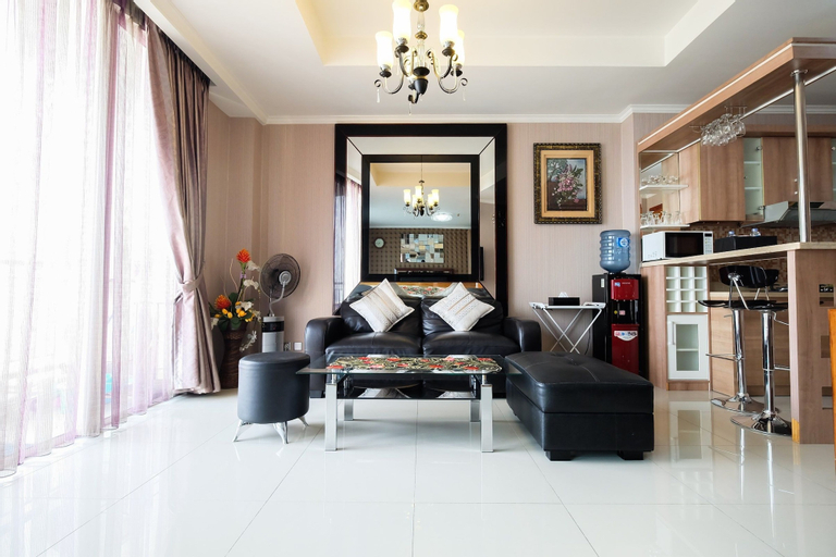 Best Furnished Studio Apartment Ancol Mansion, North Jakarta