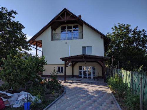 Modern rural house,