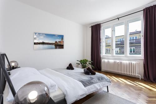 Boutique apartments 5 minutes to centre, Praha 3