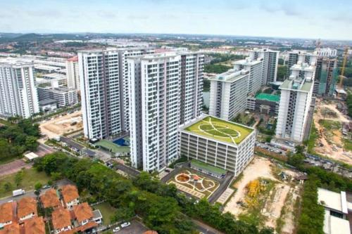 Paragon Suites CIQ JB Downtown luxury My Home Global, Johor Bahru