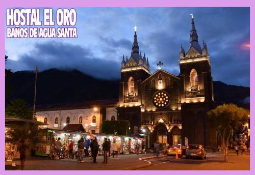 HOSTAL El Oro, Baños