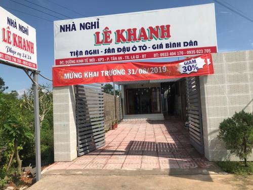 NHA NGHI LE KHANH, La Gi