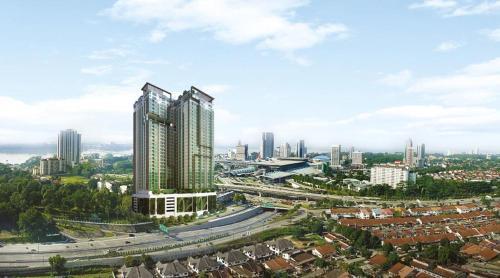 Johor City Centre CIQ Paragon Condo by My Home Global, Johor Bahru