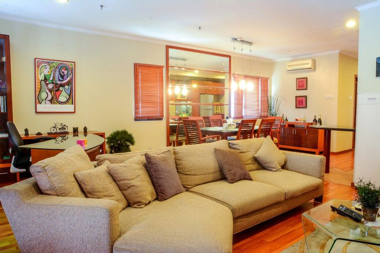 1 Bedroom at Puri Garden Apartment by Travelio, West Jakarta