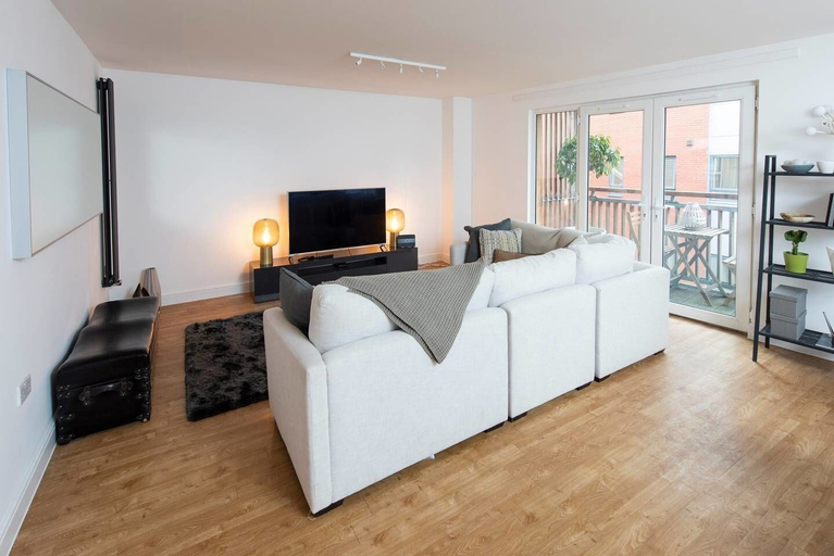 Stylish and Spacious Central 2BD Apartment, Manchester