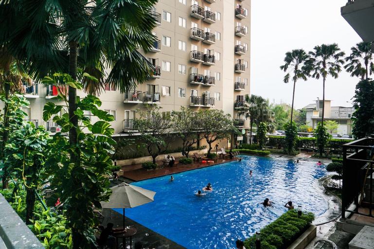 Spacious 1BR Puri Park View Apartment By Travelio, West Jakarta