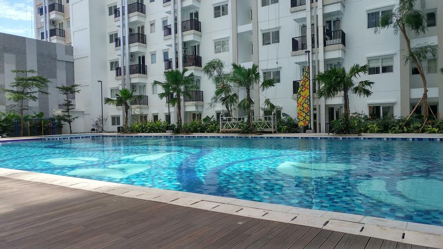 Modern Studio Signature Park Grande Apartment Near Cawang, East Jakarta