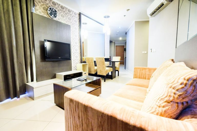 Luxury 2BR Apartment Sahid Sudirman Residence, Central Jakarta