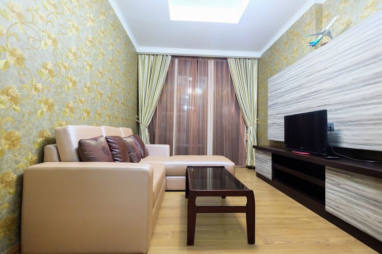 Spacious 2BR Ancol Mansion Apartment Sea View, North Jakarta